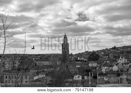 Cork City (black & White)