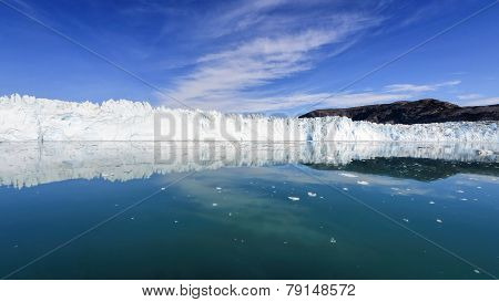 The Eqi Glacier, Greenland