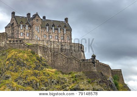 Edinburgh Castle's Western Defences, Scotland