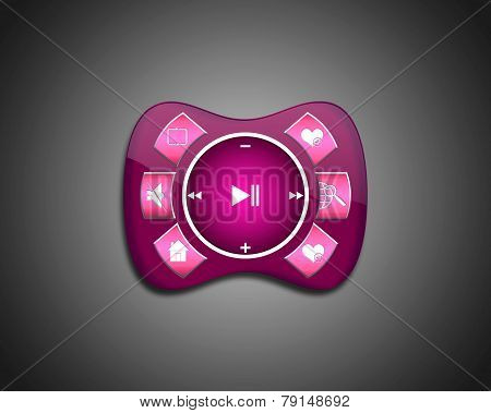 Purple Media Player