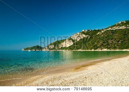 Agios Giorgios Pagon Beach, Corfu Island, Greece