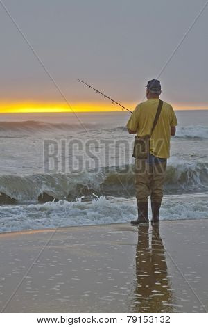 Patient Sea Fisherman