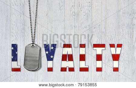 military dog tags for loyalty
