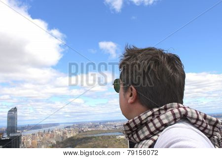 Looking at Central Park