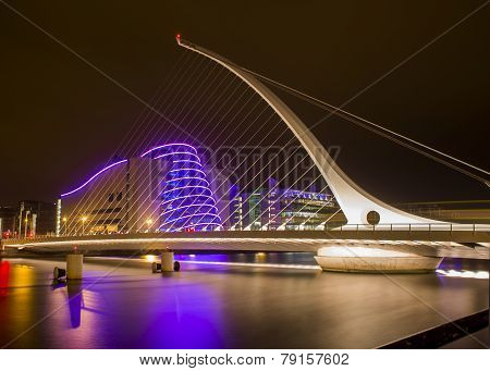 Samuel Beckett Bridge & Convention Center Dublin