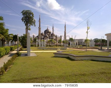 masjid kristal terengganu malaysia