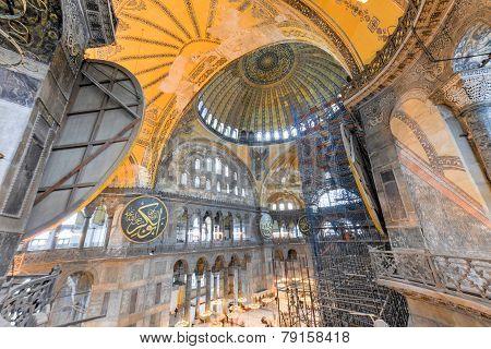 Hagia Sophia Mosque - Istanbul, Turkey