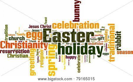 Easter Word Cloud