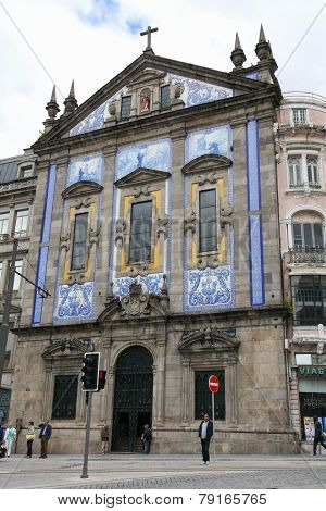 Church Of Santo Antonio Dos Congregados In Porto, Portugal