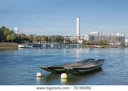 Basel, The Rhine River