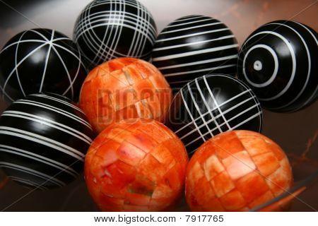 9 Wood Balls