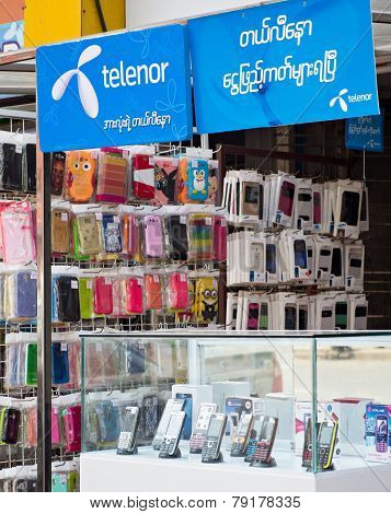 Cheaper Phone Calls In Myanmar