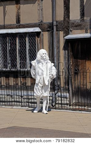 Shakespeares ghost, Stratford-upon-Avon.