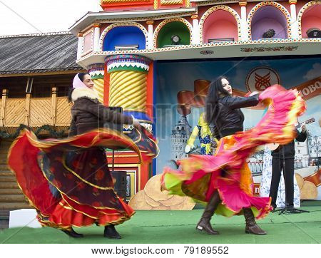 Spring Carnival In Russia