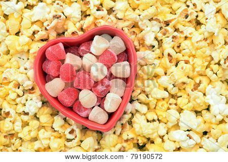Sweet And Gummy Valentine Candy