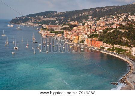 Villefranche sur Mer on the Cote d'Azur