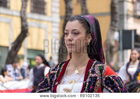Festival Of Saint Efisio. Cagliari