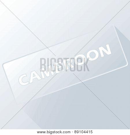 Cameroon unique button