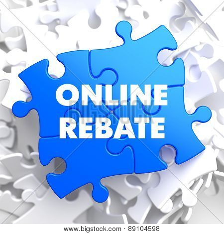 Online Rebate on Blue Puzzles.