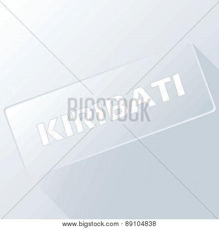Kiribati unique button