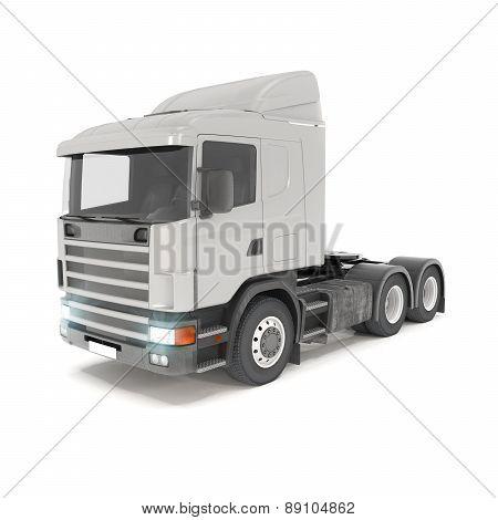 Cargo Truck - Silver