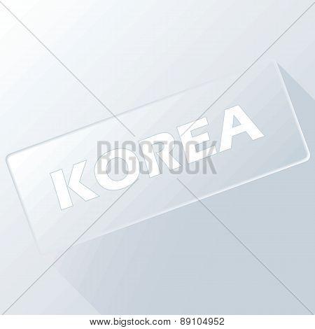 Korea unique button