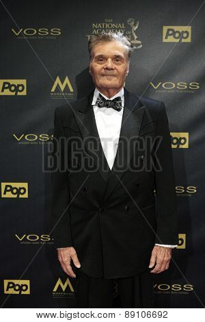 BURBANK - APR 26: Fred Willard at the 42nd Daytime Emmy Awards Gala at Warner Bros. Studio on April 26, 2015 in Burbank, California