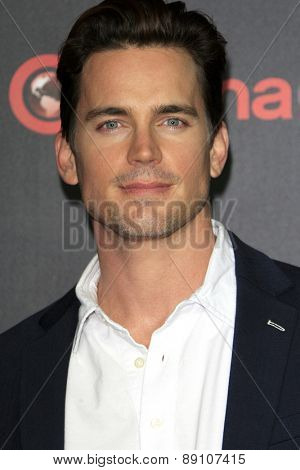 LAS VEGAS - APR 21:  Matt Bomer at the Warner Brothers 2015 Presentation at Cinemacon at the Caesars Palace on April 21, 2015 in Las Vegas, CA