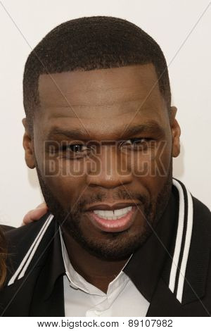 LAS VEGAS - APR 23:  Curtis Jackson, aka 50 Cent at the Twentieth Century Fox 2015 Presentation at Cinemacon at the Caesars Palace on April 23, 2015 in Las Vegas, CA
