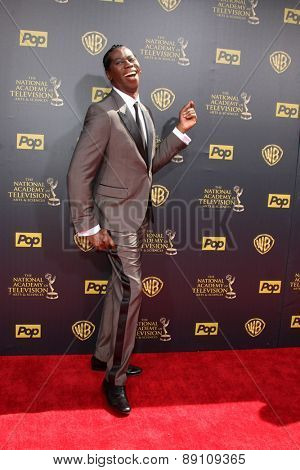 LOS ANGELES - APR 26:  J. Alexander at the 2015 Daytime Emmy Awards at the Warner Brothers Studio Lot on April 26, 2015 in Burbank, CA