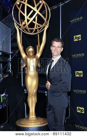 BURBANK - APR 26: Cameron Mathison at the 42nd Daytime Emmy Awards Gala at Warner Bros. Studio on April 26, 2015 in Burbank, California