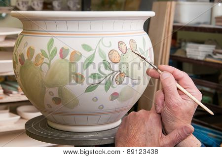 Pottery Decorating