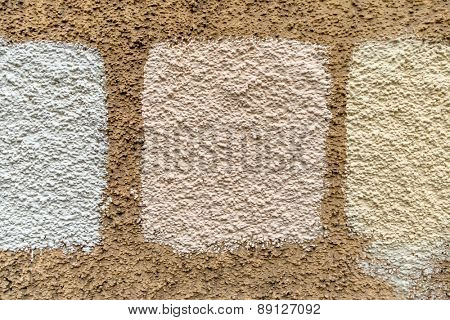 masonry white shading, symbol for background, pattern and color facade renovation,