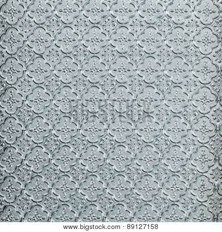 Abstract Glass surface