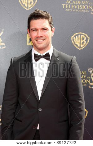 LOS ANGELES - APR 26:  Ryan Peavy at the 2015 Daytime Emmy Awards at the Warner Brothers Studio Lot on April 26, 2015 in Burbank, CA