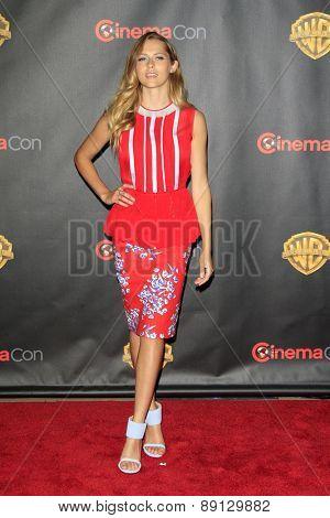 LAS VEGAS - APR 21:  Teresa Palmer at the Warner Brothers 2015 Presentation at Cinemacon at the Caesars Palace on April 21, 2015 in Las Vegas, CA