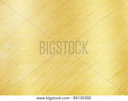 Golden Metal Texture With Reflection Stripes