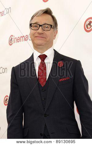 LAS VEGAS - APR 23:  Paul Feig at the Twentieth Century Fox 2015 Presentation at Cinemacon at the Caesars Palace on April 23, 2015 in Las Vegas, CA