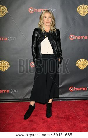 LAS VEGAS - APR 21:  Christina Applegate at the Warner Brothers 2015 Presentation at Cinemacon at the Caesars Palace on April 21, 2015 in Las Vegas, CA