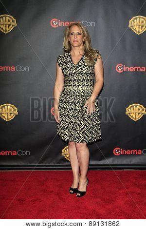 LAS VEGAS - APR 21:  Anne Fletcher at the Warner Brothers 2015 Presentation at Cinemacon at the Caesars Palace on April 21, 2015 in Las Vegas, CA