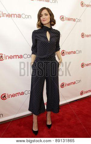 LAS VEGAS - APR 23:  Rose Byrne at the Twentieth Century Fox 2015 Presentation at Cinemacon at the Caesars Palace on April 23, 2015 in Las Vegas, CA