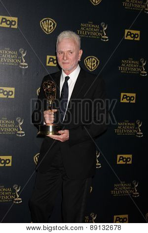 LOS ANGELES - APR 26:  Tony Geary at the 2015 Daytime Emmy Awards at the Warner Brothers Studio Lot on April 26, 2015 in Los Angeles, CA