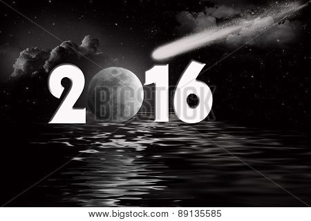 New Year 2016 comet