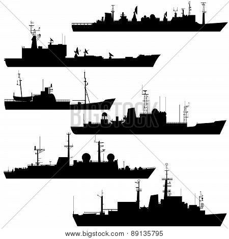 Reconnaissance ship