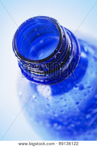 Plastic Bottle Of A Drinking Water .