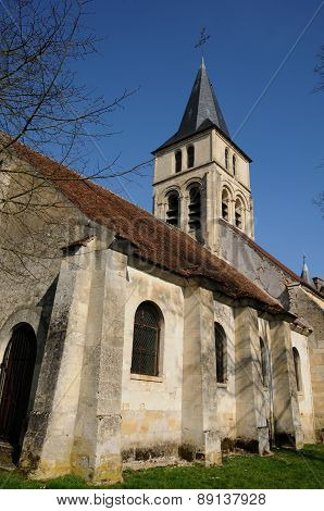 France, The Gothic Church Of Themericourt