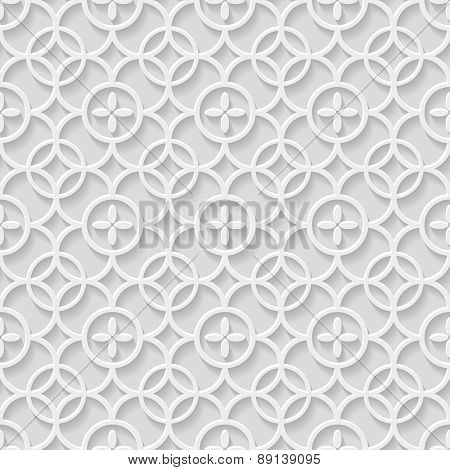 Paper gray seamless pattern