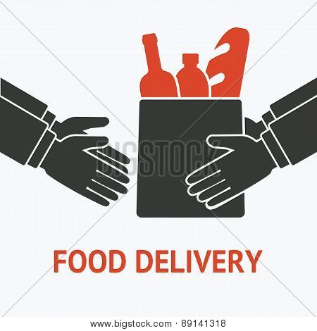 concept for delivery food