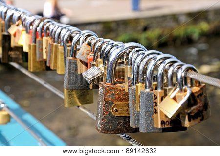 Love Locks, Bakewell.