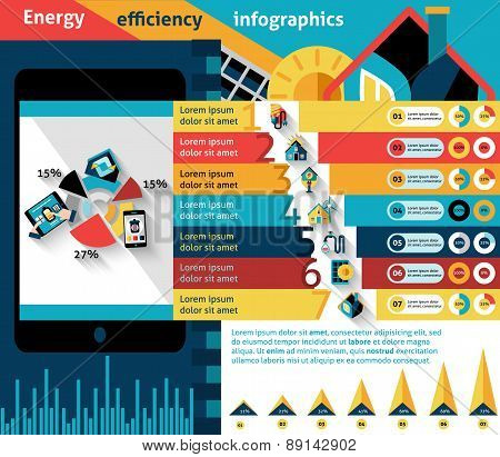 Energy Efficiency Infographics